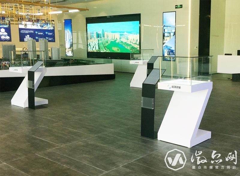 科创北城展示中心专项展柜