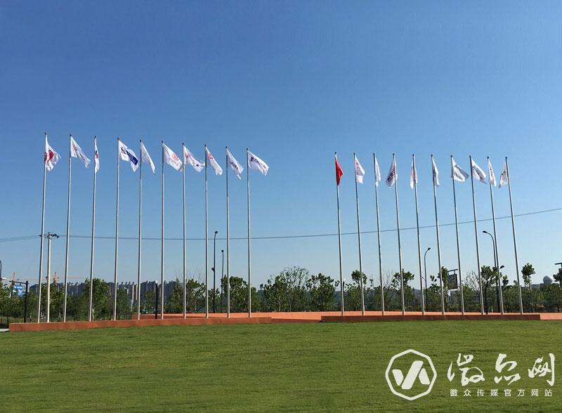 科创北城企业旗帜制作